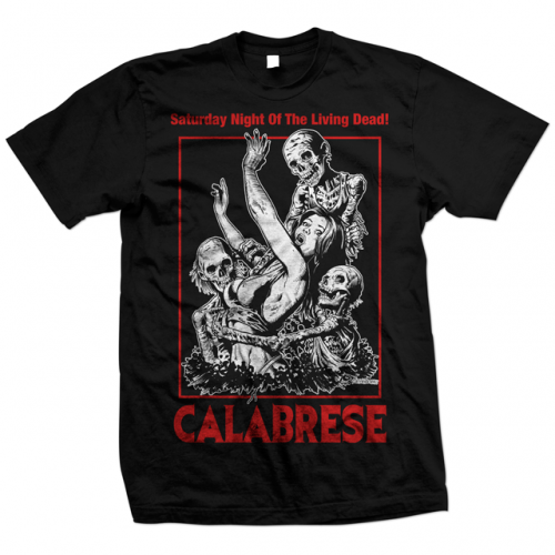 CALABRESE-Saturday-Night-Of-The-Living-Dead-T-Shirt