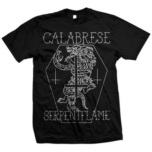 CALABRESE-Serpent-Wolf-T-Shirt